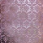 Vintage Damask Pattern in Muted Dusky Pinks by ArtformDesigns