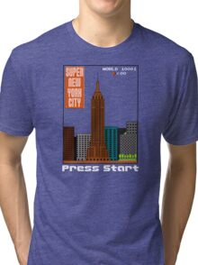 Super New York City Tri-blend T-Shirt