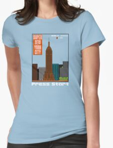 Super New York City Womens Fitted T-Shirt