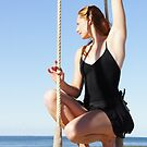 Static Trapeze at the Trapeze Beach Camp by Dancing in the Air ®