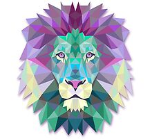 Polygonal Lion by alee7spain