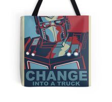 Change into A Truck Tote Bag