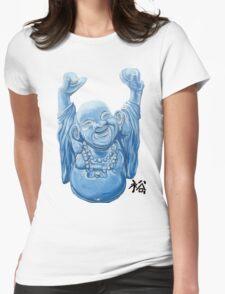 Abundance Buddha Womens Fitted T-Shirt