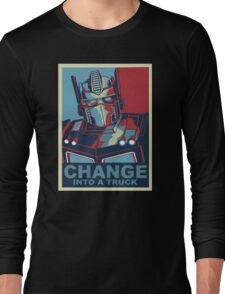 Change into A Truck Long Sleeve T-Shirt