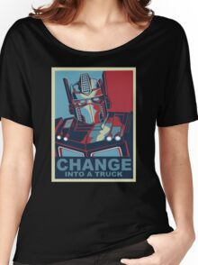 Change into A Truck Women's Relaxed Fit T-Shirt
