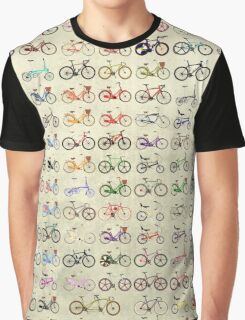 Bikes Graphic T-Shirt