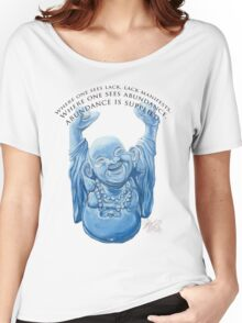 Abundance Buddha Women's Relaxed Fit T-Shirt