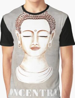 Buddha - Concentrate Graphic T-Shirt