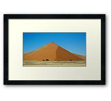 Dune in Sossusvlei Framed Print