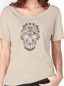 Musical Instruments Rock Skull Women's Relaxed Fit T-Shirt