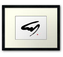 Turtledragon 0002 Framed Print
