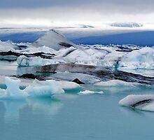 Ice lagoon Dream by Sandy Maya Matzen