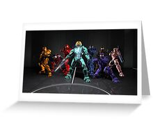 Red vs. Blue Group Finale Greeting Card