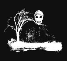 Skull on Dead Tree  by Nhan Ngo