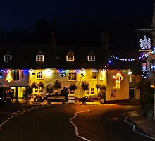 Village Christmas 3 by Mike Streeter