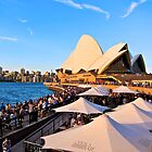 Friday Evening Opera Quay, Sydney by Mihaela Limberea