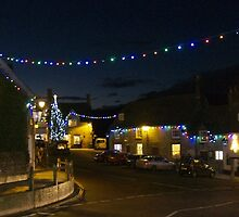 Village Christmas 2 by Mike Streeter