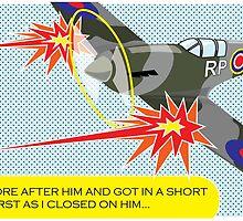 Spitfire Art by Rob Johnston