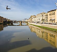...thou speakest of the Arno - Dante  by Aleksandar Topalovic