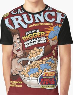 Captain Mal's Krunch Cereal Graphic T-Shirt