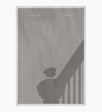 It's A Wonderful Poster Photographic Print