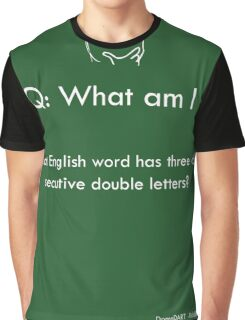 Riddle #7 Graphic T-Shirt