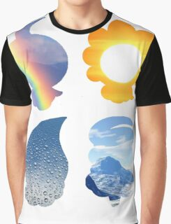 Castform used Weather Ball Graphic T-Shirt