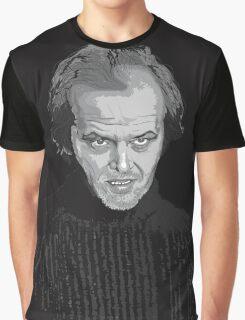 Jack Nicholson (Jack Torrance) The Shining poster Graphic T-Shirt