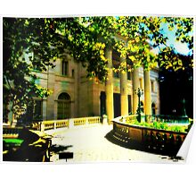 The Elms Historic Mansion In Newport RI Poster