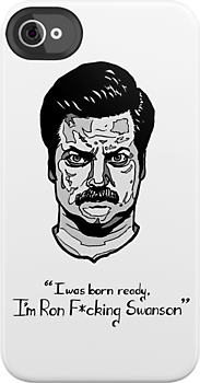 Ron Swanson by drwhofreak