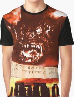Curse of the Demon Graphic T-Shirt