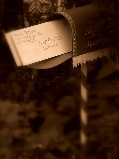 Letter To Santa by artisandelimage
