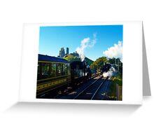 Passing at Corfe 2 Greeting Card