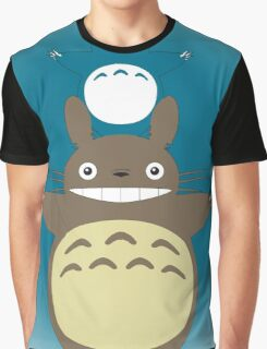 Totoro Totem with Detail Graphic T-Shirt