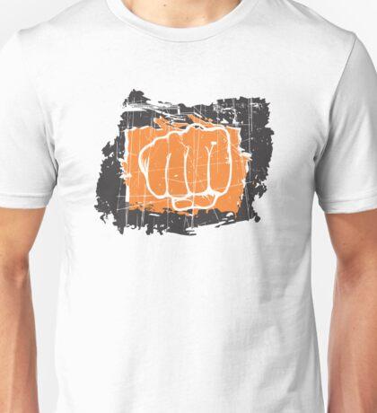 Hand punching Unisex T-Shirt