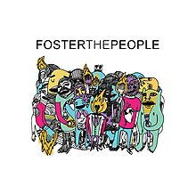 Foster The People Colors Photographic Print