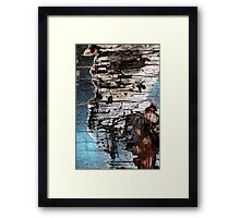 talking with myself Framed Print