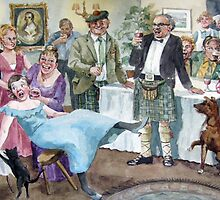 Toast to the Lasses at Burns Suppers by Joyce Grubb