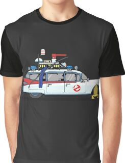 Ghostbusters Cadillac Wheel Clamp  Graphic T-Shirt