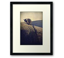 Another Uphill Battle Framed Print