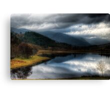 Dull day in the Glen Canvas Print