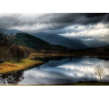 Dull day in the Glen Photographic Print