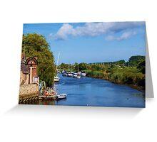 Summer riverside 2 Greeting Card