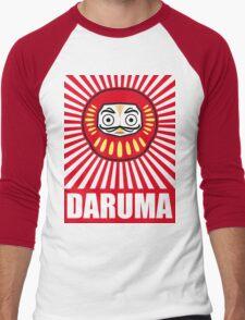 Daruma  Men's Baseball ¾ T-Shirt