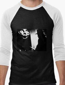 When Allan Moore met Tim Burton Men's Baseball ¾ T-Shirt