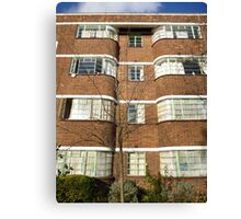 London Deco: Oman Court 1 Canvas Print