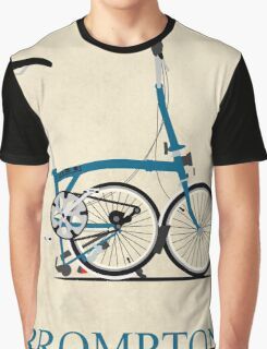 Brompton Folding Bike Graphic T-Shirt
