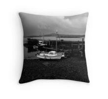 Fishing boats, Co. Cork, Ireland Throw Pillow