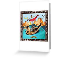 Voyagers by Ro London - Menagerie Collection Greeting Card