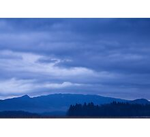 moody sky at dawn Photographic Print